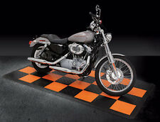 Harley Parking Pad / Harley Davidson garage flooring / interlocking tiles