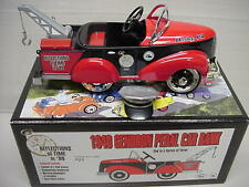 HERSHEY AACA  GENDRON PEDAL CAR TOW TRUCK WRECKER 1/8 SCALE LIGHTS UP L@@K