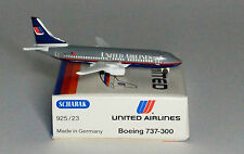 Schabak Boeing 737-322 United Airlines 2nd version in 1:600 scale