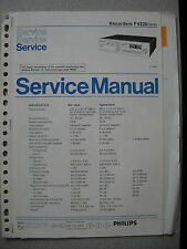 PHILIPS f6220 Service Manual incl. info Service