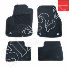 Passform Autoteppich (runde Befestigung) 4-teilig für VW Passat B5 3BG schwarz