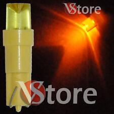 2 LED T5 CONCAVE GIALLO Lampade Luci Lampadine Per Quadro Strumenti e Posizione