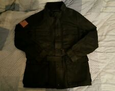 NWT New POLO RALPH LAUREN Denim & Supply Mens Military Jacket Coat Small S Black
