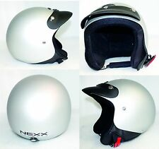 71 casco NEXX X60 jet BASIC GRAY SOFT taglia XXL 63-64
