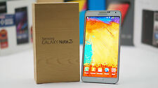 New In Box Samsung Galaxy Note 3 SM-N900 White GSM Unlocked for ATT T-Mobile