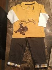 Gymboree 2 Piece Outfit  12-18 Months Baby Boy
