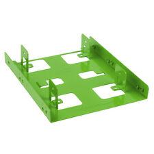 """SHARKOON  Festplatten Einbaurahmen für 2,5"""" HDD /  grün für 3,5"""" Einbauschacht"""