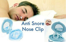 NEW SILICON ANTI SNORE SNORING STOP SLEEP HELP DEVICE NOSE CLIP