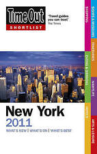 Time Out Shortlist New York 2011, Time Out Guides Ltd, New Book