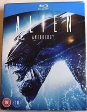 ALIEN ANTHOLOGY Sealed 4-Disc BLU-RAY BOX SET 1-4 Aliens 1 2 3 4 resurrection