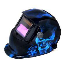 Pro Solar Auto Darkening Ice Skull Welding Helmet Arc Tig mig certified mas