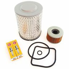 Tune Up Kit - Oil / Air filter + Spark Plugs Honda CM400 CM400A/C/E/T 1979-1981