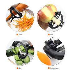 Vegetable Fruit Peeler Slicer Cutter Potato Tool Kitchen Scraper Handle Gadget