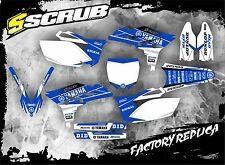 SCRUB Yamaha graphics decals kit WR450f 2012 - 2015 stickers WRf 450 '12-'15