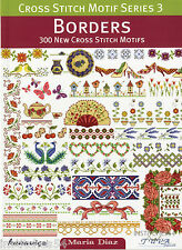 DMC Cross Stitch Motif Series 3 Chart Book Borders
