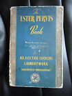 The Book of Electrical Cookery Housecraft And Home Laundering 1949 Ester Purvis