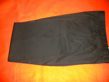 "MEN'S BLACK PANT, 38"" Waist, 30"" cuffed Leg Length, V-E-L-O-C-E, Double pleats"