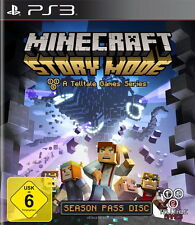 Minecraft: Story Mode (Sony PlayStation 3, 2015, DVD-Box)