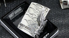 Japanese Zippo Harley Davidson Lighter - Japan - Eagle - New - Model # HDP-04