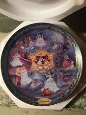 Cinderella Ever After Plate 7253A Bradford Exchange Limited Edition