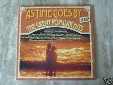 AS TIME GOES BY Great Popular Hits CSP 1976 DLP
