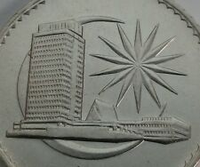 Malaysia 1 Ringgit 1971. KM#9.1. One Dollar coin. Parliament House. Dollar 1971.
