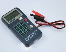 Electrical equipments Process Calibrator Thermocouple K,J,E,T TYPE Frequency
