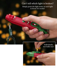 Collections Etc Mini Christmas String Light And Bulb Tester