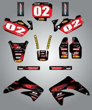 Honda CR 85 2003 - 2013 Full Custom graphic kit Barbed Style stickers