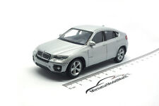 #44016 - Welly BMW X6 - Silber - 1:43