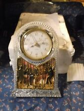 ksm. Elvis Legend in Time Clock by Nate Georgio A1395  7 9/16 Inch High Works