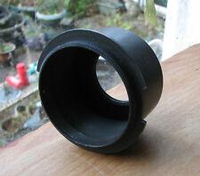 recessed  m39  thread enlarger lens flange carrier 39mm , 75mm diameter