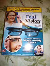 SALE!!New Instant 20/20 Vision Adjustable Glasses Reading Watching As Seen on TV