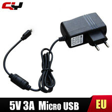 Raspberry Pi EU AC Charger 5V 3A 3000ma Micro Usb Tablet Pc Power Adapter Supply