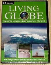 NEU, OVP, CD-ROM - LIVING GLOBE - Simulierte Klimaveränderungen in Echtzeit