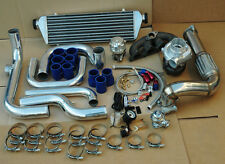 HONDA CIVIC 96-00 D15 D16 BLOT-ON TURBO KIT+ INTERCOOLER PIPING+T3/T4 .63 AR