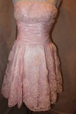NWT Size 0 pink short formal dress, Tony Bowls TS11173, homecoming, party dress