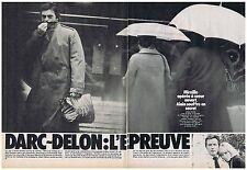 COUPURE DE PRESSE CLIPPING 1980 MIREILLE DARC - ALAIN DELON  (6 pages)