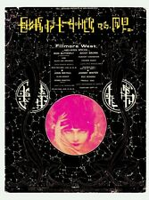 ORIGINAL BG-247 Handbill IRON BUTTERFLY Fillmore West 1970 ALTON KELLEY
