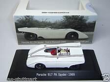 Porsche 917 PA Spyder Test Weissach 1969 Edition Porscheplatz 10/14 Spark 1:43
