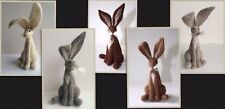 2 X Needle Felt Hare Kits - Special Offer £22