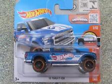 Hot WHEELS 2016 # 141/250 2015 Ford F-150 bleu HW hot camions cas un
