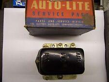1955 HUDSON,NASH&1952-1955 STUDEBAKER&TK ORGINIAL AUTOLITE VOLTAGE REGULATOR