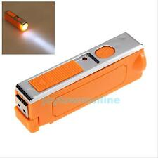 Rechargeable LED Car Cigarette Lighter Mini Flashlight Torch Light USB Charge