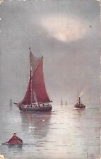 BR67818 ship bateaux postcard painting  uk