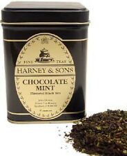 Harney and Sons CHOCOLATE MINT TEA Loose Leaf Tea 4 oz in Tin