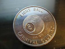 eight ball pool billiards apa marker ? Doubloon mardi gras rare new orleans