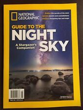 National Geographic Guide To Night Sky Explore Stars Planets 2015 FREE SHIPPING!
