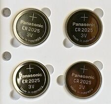 4 NEW PANASONIC CR2025 ECR 2025 Batteries 3V Exp.2025