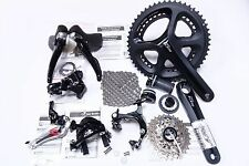 Shimano 105 5800 Road 50/34T Full Groupset Group Black 172.5MM 12-25T 2x11 Speed